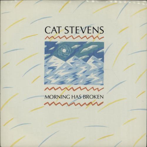 """Cat Stevens Morning Has Broken 7"""" vinyl single (7 inch record) UK CTV07MO99289"""
