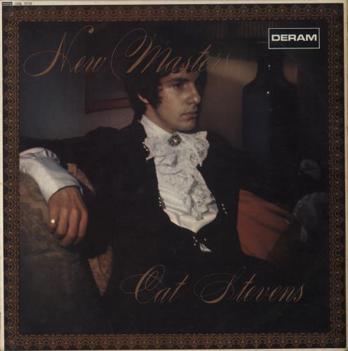 Cat Stevens New Masters - 1st vinyl LP album (LP record) UK CTVLPNE329043