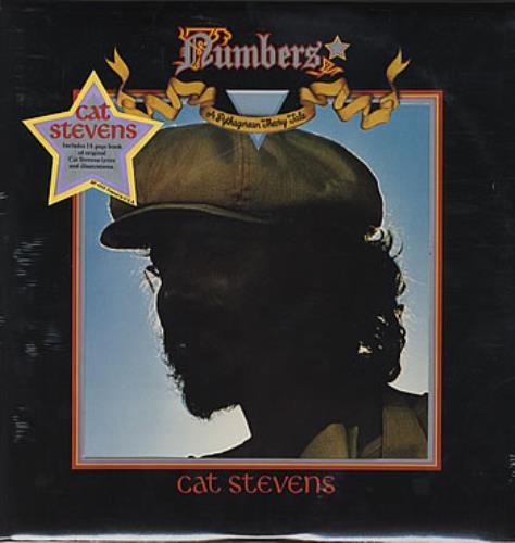 Cat Stevens Numbers - Sealed vinyl LP album (LP record) US CTVLPNU305734
