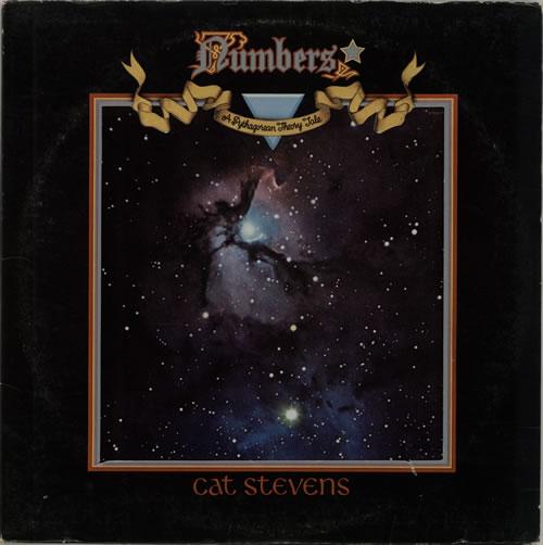 Cat Stevens Numbers vinyl LP album (LP record) Canadian CTVLPNU641478