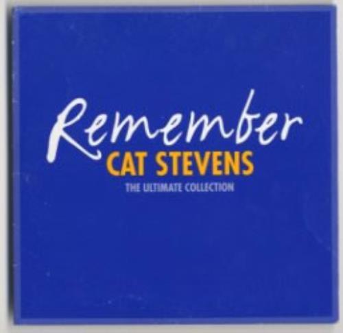 Cat Stevens Remember - The Ultimate Collection CD album (CDLP) UK CTVCDRE146784