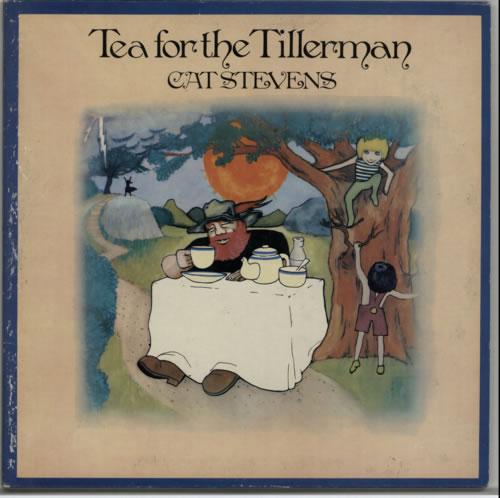 Cat Stevens Tea For The Tillerman - 2nd - EX vinyl LP album (LP record) UK CTVLPTE612805