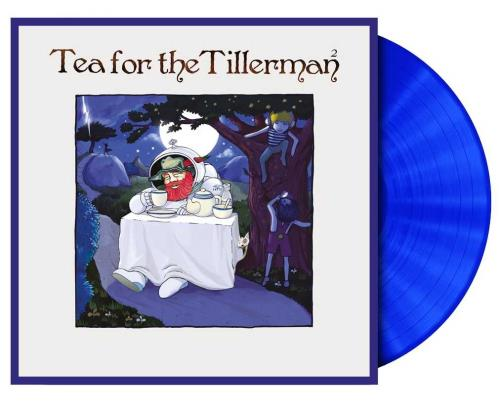 Cat Stevens Tea For The Tillerman 2 - Blue Vinyl vinyl LP album (LP record) UK CTVLPTE752782