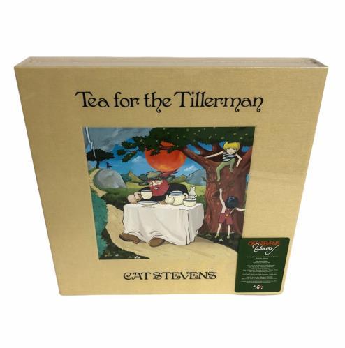 Cat Stevens Tea For The Tillerman Super Deluxe Edition - Sealed box set UK CTVBXTE774286