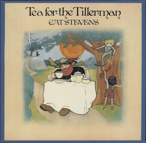 Cat Stevens Tea For The Tillerman vinyl LP album (LP record) Dutch CTVLPTE582389