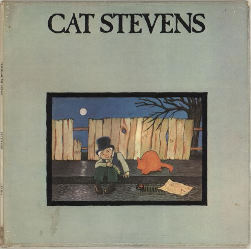 Cat Stevens Teaser And The Firecat - Pink Rim vinyl LP album (LP record) South African CTVLPTE703681