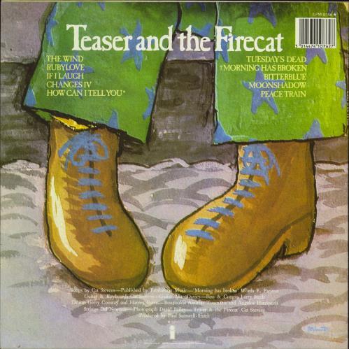 Cat Stevens Teaser And The Firecat vinyl LP album (LP record) UK CTVLPTE715051