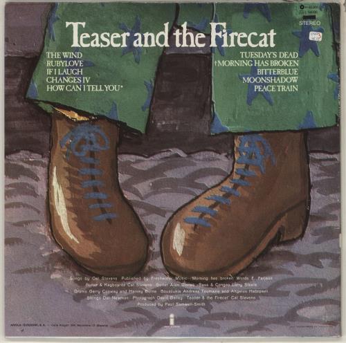 Cat Stevens Teaser And The Firecat vinyl LP album (LP record) Spanish CTVLPTE734398