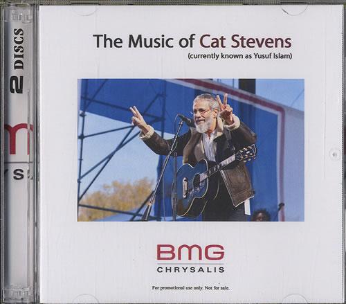 Cat Stevens The Music Of Cat Stevens CD-R acetate US CTVCRTH559006