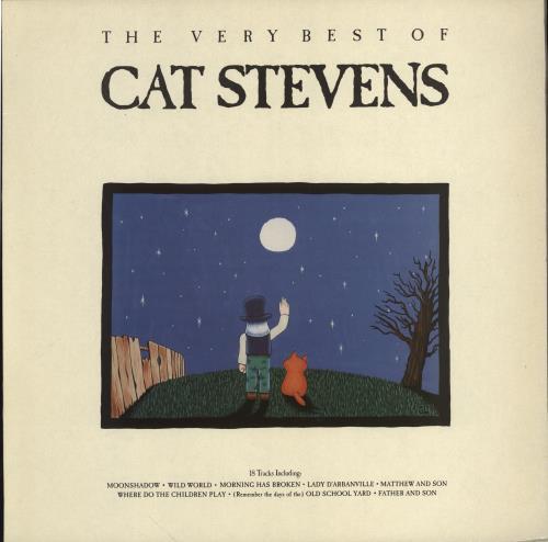 Cat Stevens The Very Best Of Cat Stevens Uk Vinyl Lp Album
