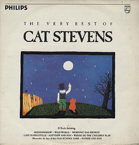 Cat Stevens The Very Best Of Cat Stevens vinyl LP album (LP record) Colombian CTVLPTH314300
