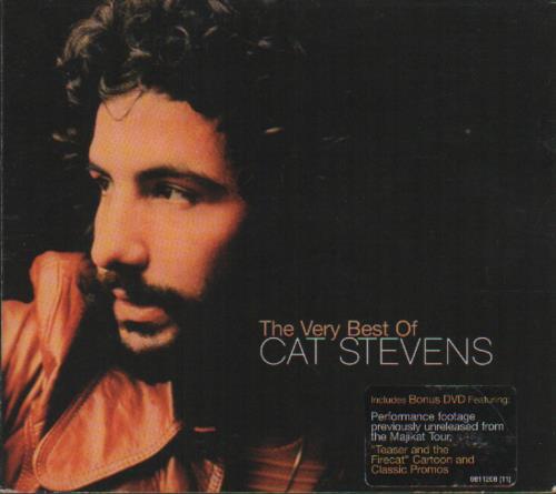 Cat Stevens The Very Best Of Cat Stevens 2-disc CD/DVD set UK CTV2DTH679559
