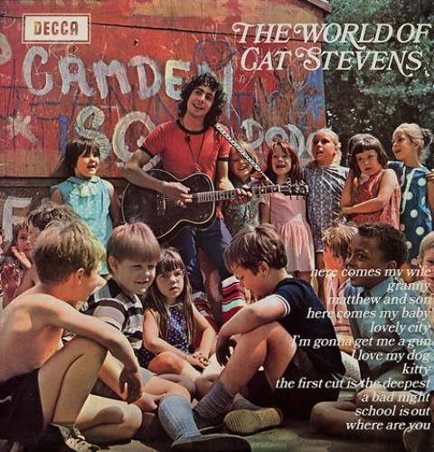 Cat Stevens The World Of Cat Stevens - 1st vinyl LP album (LP record) UK CTVLPTH330582