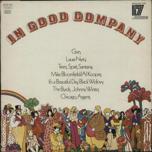 CBS Records In Good Company - EX vinyl LP album (LP record) UK I1ULPIN394037