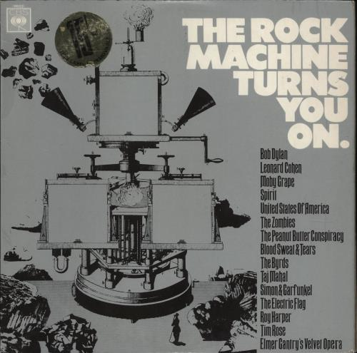 CBS Records The Rock Machine Turns You On vinyl LP album (LP record) UK I1ULPTH581742