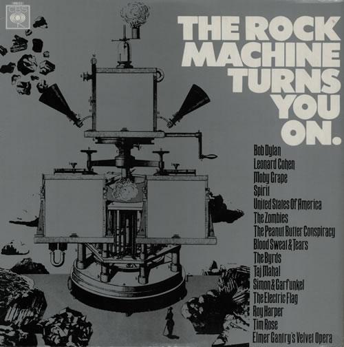 CBS Records The Rock Machine Turns You On vinyl LP album (LP record) UK I1ULPTH582307