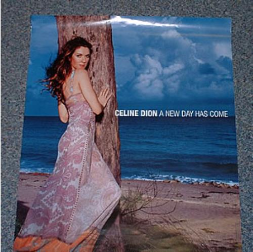 Celine Dion A New Day Has Come poster UK CELPOAN238207