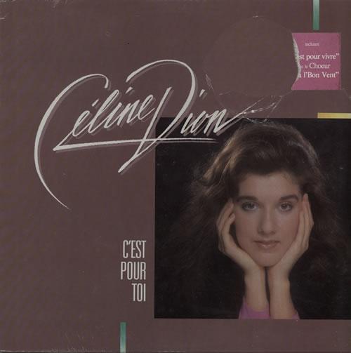 Celine Dion C'est Pour Toi - Sealed vinyl LP album (LP record) Canadian CELLPCE580813