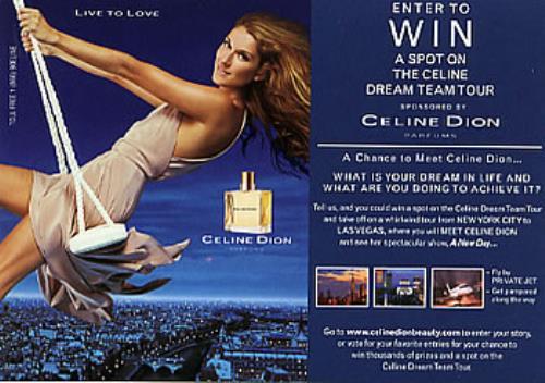 Celine Dion Dream Team Tour - THREE postcards memorabilia US CELMMDR274954