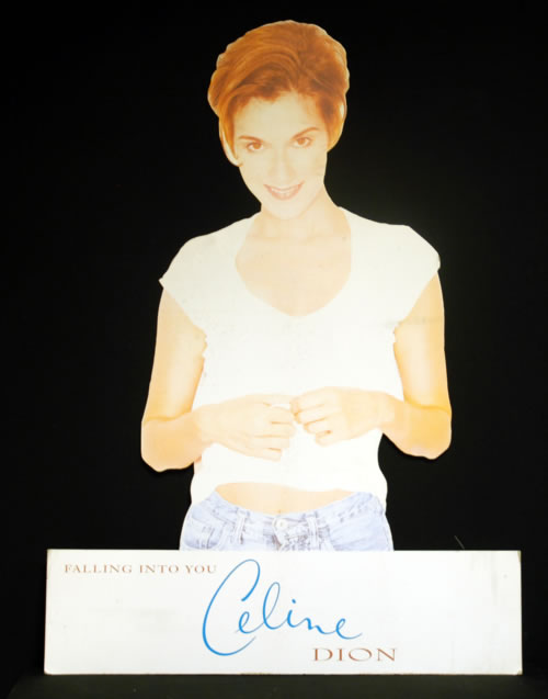 Celine Dion Falling Into You display UK CELDIFA617961