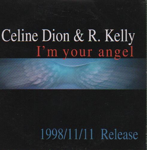 """Celine Dion I'm Your Angel CD single (CD5 / 5"""") Japanese CELC5IM131556"""