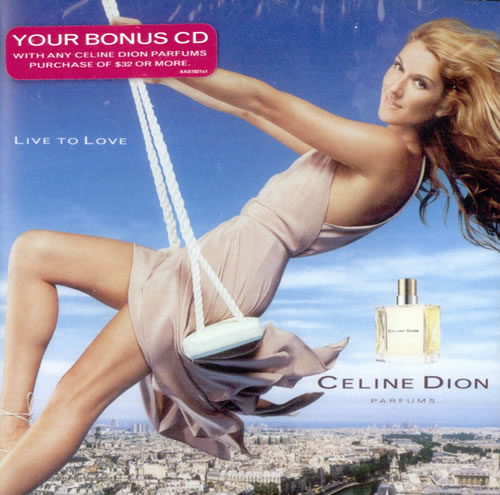 Celine Dion Live To Love - Sealed CD album (CDLP) US CELCDLI525878