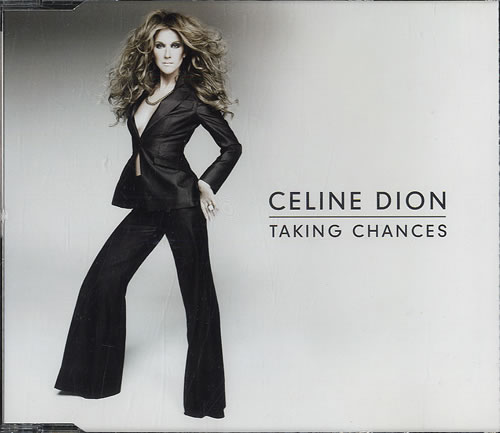"Celine Dion Taking Chances CD single (CD5 / 5"") UK CELC5TA552210"