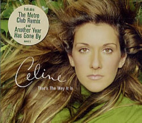 """Celine Dion That's The Way It Is CD single (CD5 / 5"""") UK CELC5TH192722"""