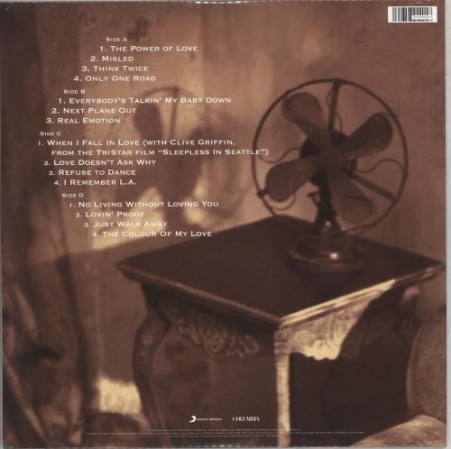 Celine Dion The Colour Of My Love - 180gm Turquoise Vinyl - Sealed 2-LP vinyl record set (Double Album) German CEL2LTH710614