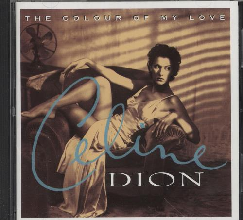 Celine Dion The Colour Of My Love - The CD Club CD album (CDLP) Japanese CELCDTH745730