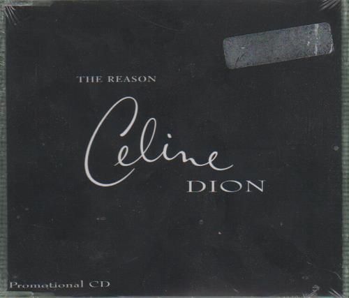 "Celine Dion The Reason CD single (CD5 / 5"") Austrian CELC5TH100213"