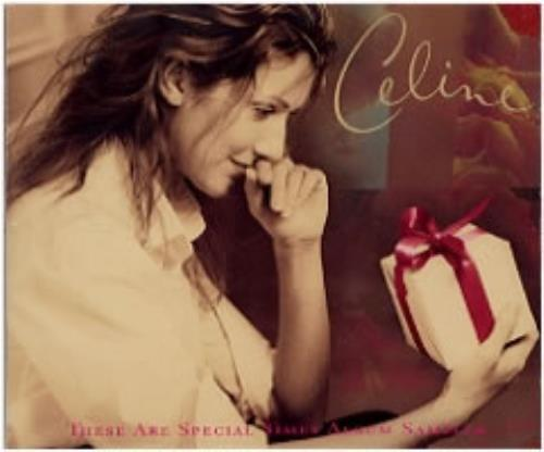 """Celine Dion These Are Special Times Album Sampler Austrian Promo CD single (CD5 / 5"""") (131728)"""