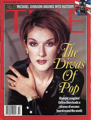 Celine Dion Time Magazine - August 12 1996 magazine US CELMATI290340
