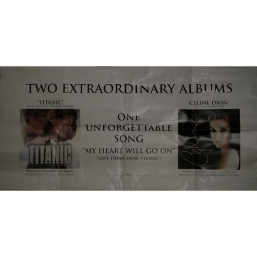 Celine Dion Two Extraordinary Albums, One Unforgetable Song display US CELDITW505631