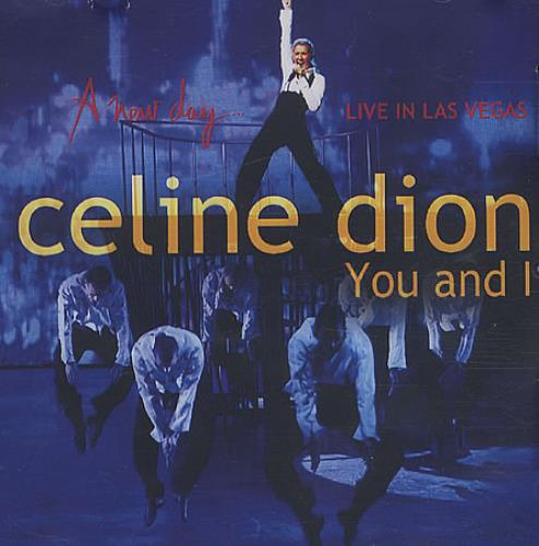 Celine Dion You And I CD-R acetate Canadian CELCRYO399337