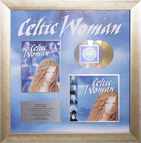 Celtic Woman Celtic Woman award disc US C5MAWCE542108