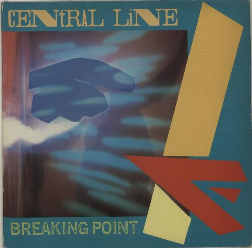 Central Line Breaking Point vinyl LP album (LP record) UK CN3LPBR686823