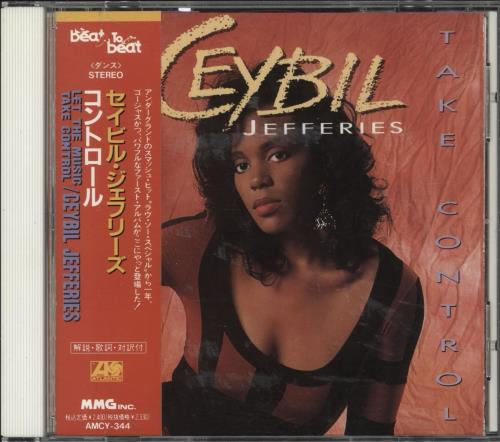 Ceybil Jefferies Let The Music Take Control CD album (CDLP) Japanese FY1CDLE723325