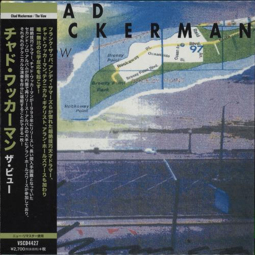 Chad Wackerman The View CD album (CDLP) Japanese E9GCDTH751478