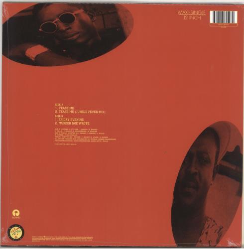 "Chaka Demus & Pliers Tease Me - RSD18 - Yellow Vinyl - Sealed 12"" vinyl single (12 inch record / Maxi-single) UK CDP12TE732629"