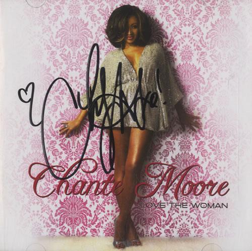 Chanté Moore Love The Woman - Autographed CD album (CDLP) US CMECDLO507834