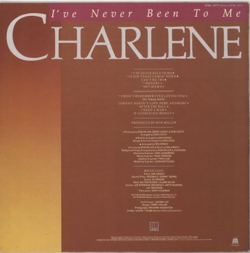Charlene I've Never Been To Me vinyl LP album (LP record) UK EN2LPIV724712