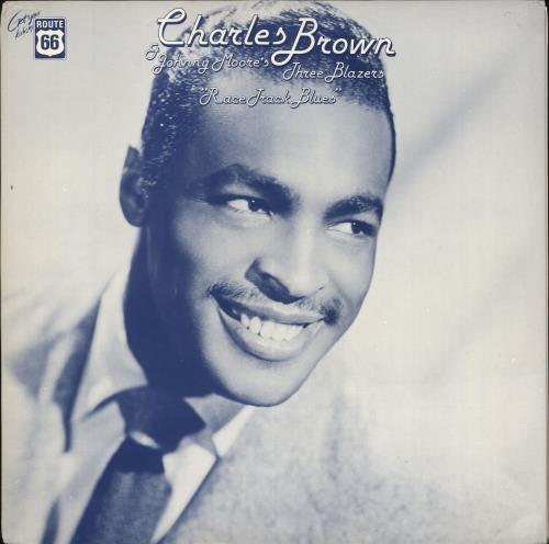 Charles Brown Race Track Blues vinyl LP album (LP record) Swedish F8BLPRA712394