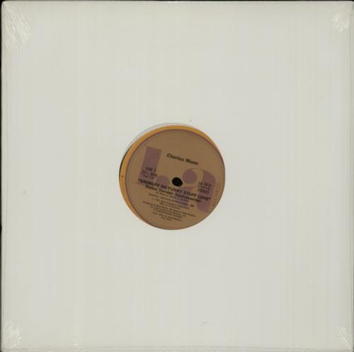 "Charles Mann (Soul) Shonuff No Funny Stuff Love - Sealed 12"" vinyl single (12 inch record / Maxi-single) US C7A12SH606205"