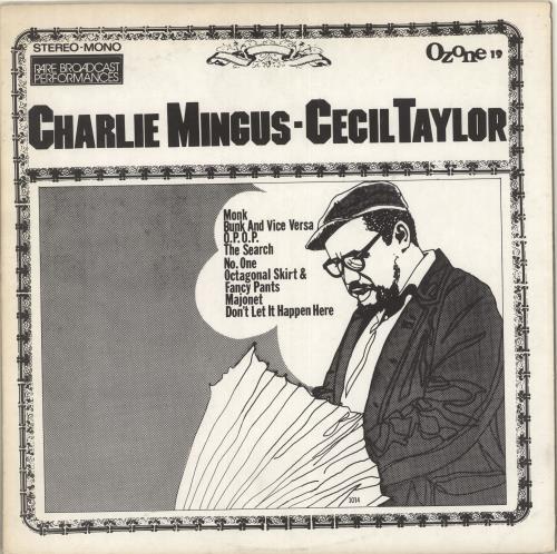 Charles Mingus Charlie Mingus - Cecil Taylor vinyl LP album (LP record) US CA8LPCH713616