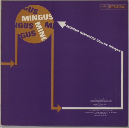 Charles Mingus Mingus Revisited vinyl LP album (LP record) UK CA8LPMI675978