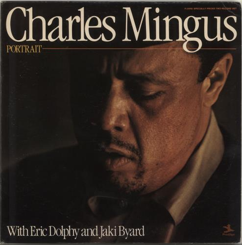 Charles Mingus Portrait 2-LP vinyl record set (Double Album) US CA82LPO703955