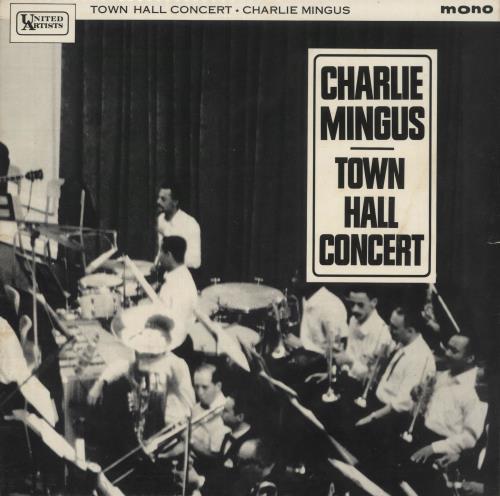 Charles Mingus Town Hall Concert vinyl LP album (LP record) UK CA8LPTO451404