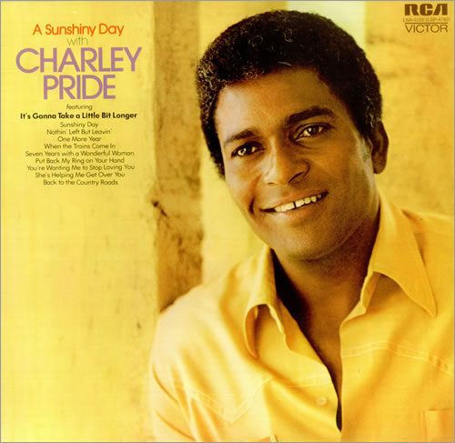 Charley Pride A Sunshiny Day vinyl LP album (LP record) UK PR1LPAS452690