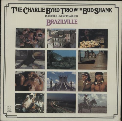 Charlie Byrd Brazilville vinyl LP album (LP record) US BY0LPBR678148